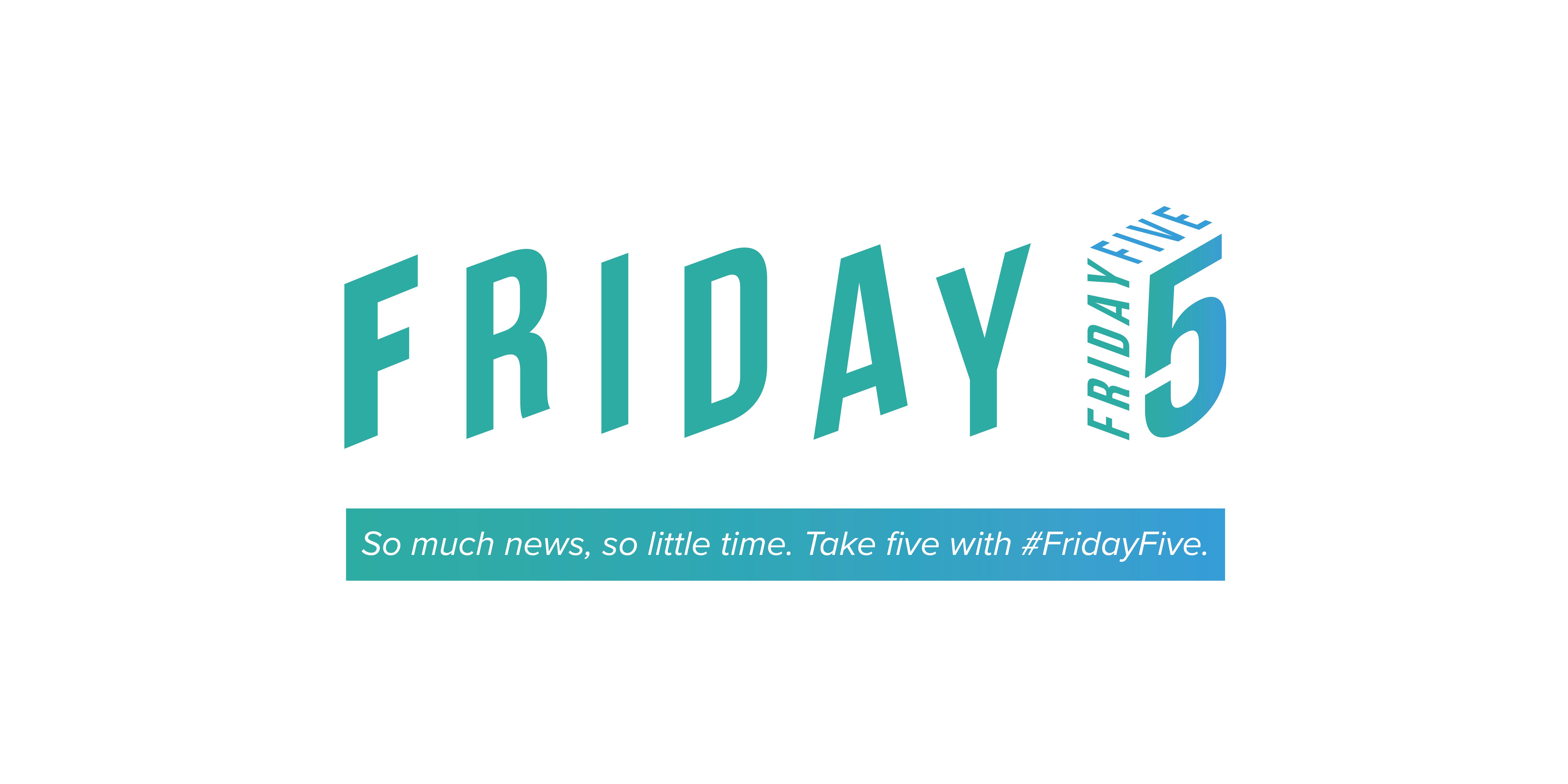Friday Five Header